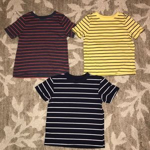 Bundle of 3 striped tees 3T toddler boys Old Navy